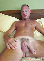 Deeply tanned and covered in hot blonde peach fuzz, Jon Piston loves to soak up the sun on the beaches of Florida.
