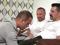 Joe Gage's Stopover in Bonds Corner: Dallas Steele & David Anthony tag team Luke Adams sweet ass
