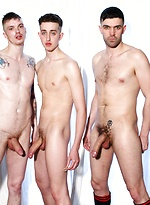 Luke Tom Long, AJ Alexander and Luke Vogel